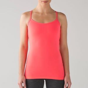 Lululemon Athletica Coral/Red Y Tank 6